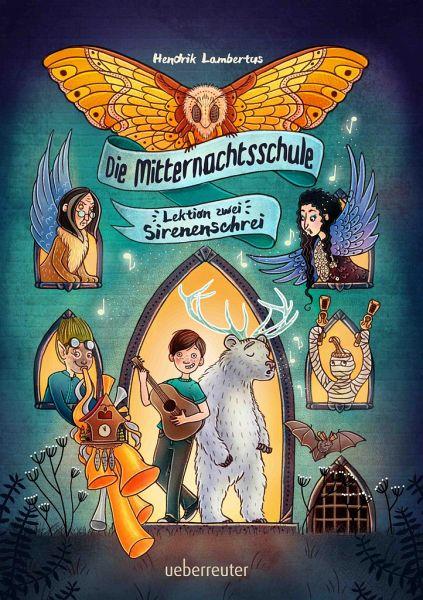 Buch-Reihe Die Mitternachtsschule