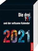 Die drei ??? und der seltsame Kalender 2021 (drei Fragezeichen)