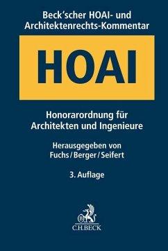 Beck'scher HOAI- und Architektenrechts-Kommentar