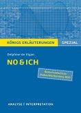No & ich. Textanalyse und Interpretation. Königs Erläuterungen Spezial (eBook, PDF)