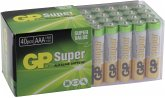 1x40 GP Super Alkaline AAA Micro Batterien PET Box 03024AB40