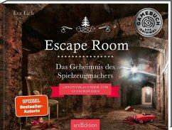 Escape Room. Das Geheimnis des Spielzeugmachers. Adventskalender - Eich, Eva