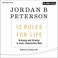 12 Rules For Life (MP3-Download) - Peterson, Jordan B.