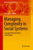 Managing Complexity in Social Systems (eBook, PDF)