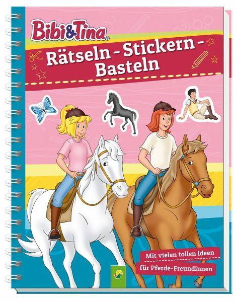 Bibi Tina Rätseln Stickern Basteln