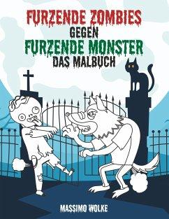Furzende Zombies gegen furzende Monster - Wolke, Massimo
