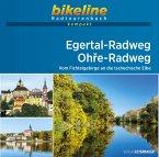 Egertal-Radweg . Ohre-Radweg 1 : 50 000
