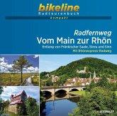 Radfernweg Vom Main zur Rhön 1 : 50 000