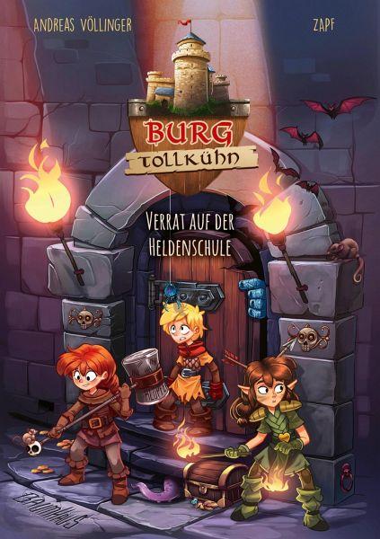 Buch-Reihe Burg Tollkühn