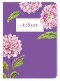 Notizheft Blütenzauber Dahlie