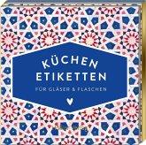 Etiketten für Gläser und Flaschen, Blau