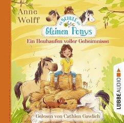 Ein Heuhaufen voller Geheimnisse / Die Schule der kleinen Ponys Bd.1 (2 Audio-CDs) - Wolff, Anne