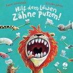 Hilf dem Löwen Zähne putzen! (Pappbilderbuch) / Ignaz Igel Bd.3