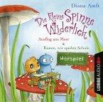 Die kleine Spinne Widerlich - 2 Geschichten - Ausflug ans Meer & Komm, wir spielen Schule, Audio-CD
