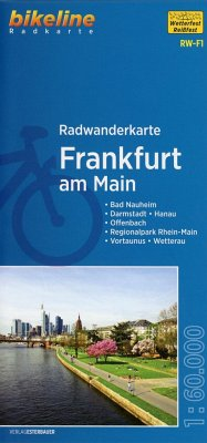 Bikeline Radwanderkarte Frankfurt am Main