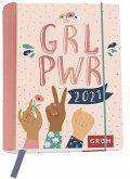 GRL PWR 2021 Terminplaner mit Wochenkalendarium
