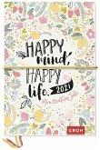 Happy mind, happy life. 2021 Mein kreatives Jahr