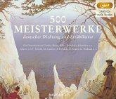 500 Meisterwerke deutscher Dichtung und Erzählkunst, 3 MP3-CD