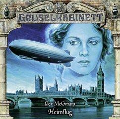 Heimflug / Gruselkabinett Bd. 161 (Audio-CD) - McGraup, Per