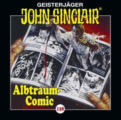 Albtraum-Comic / Geisterjäger John Sinclair Bd.138 (1 Audio-CD) - Dark, Jason