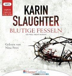 Blutige Fesseln, 3 MP3-CD - Slaughter, Karin