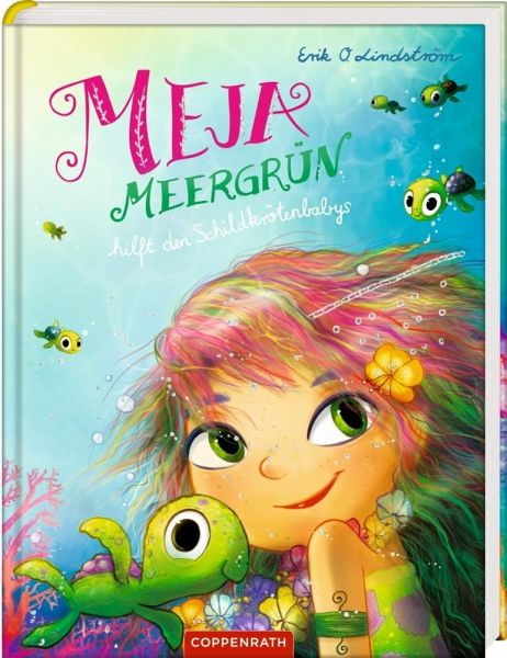 Buch-Reihe Meja Meergrün