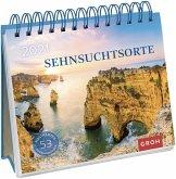 Sehnsuchtsorte 2021 Postkarten-Kalender mit separatem Wochenkalendarium