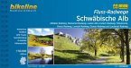 Fluss-Radwege Schwäbische Alb 1 : 50 000