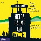 Helga räumt auf / Frau Huber ermittelt Bd.2 (4 Audio-CDs)