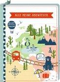 Reisetagebuch - Reisezeit Kids - Alle meine Abenteuer