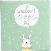 Goldbuch Welcome little ONE mint 25x25 60 weiße Seiten Baby 24181