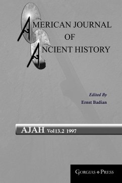 American Journal of Ancient History (eBook, PDF)