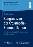 Kongruenz in der Crossmedia-Kommunikation (eBook, PDF)