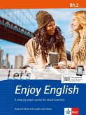 Let's Enjoy English B1.2. Student's Book with audios and videos