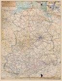 ÜBERSICHTSKARTE Deutsche Reichsbahn (DR) im März 1946 - Eisenbahnnetz der SOWJETISCHEN BESATZUNGSZONE Deutschlands - ger