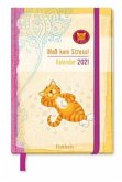 Om-Katze: Bloß kein Stress! Taschenkalender 2021