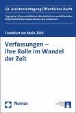 Verfassungen - ihre Rolle im Wandel der Zeit (eBook, PDF)
