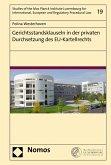 Gerichtsstandsklauseln in der privaten Durchsetzung des EU-Kartellrechts (eBook, PDF)