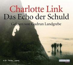 Das Echo der Schuld, 6 Audio-CDs (Mängelexemplar) - Link, Charlotte