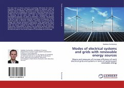 Modes of electrical systems and grids with renewable energy sources