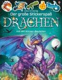 Der große Stickerspaß: Drachen