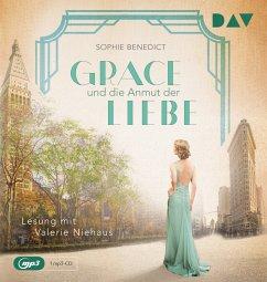 Grace und die Anmut der Liebe / Mutige Frauen zwischen Kunst und Liebe Bd.13 (1 MP3-CD) - Benedict, Sophie