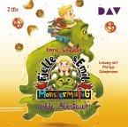 Monstermäßig wilde Abenteuer / Fjelle und Emil Bd.2 (2 Audio-CDs)
