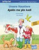 Unsere Haustiere. Kinderbuch Deutsch-Kurdisch/Kurmancî