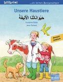 Unsere Haustiere. Kinderbuch Deutsch-Arabisch