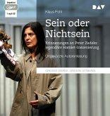 """""""Sein oder Nichtsein"""". Erinnerungen an Peter Zadeks legendäre Hamlet-Inszenierung, 1 Audio-CD, 1 MP3"""