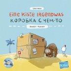 Eine Kiste Irgendwas. Kinderbuch Deutsch-Russisch mit Audio-CD