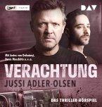 Verachtung / Carl Mørck. Sonderdezernat Q Bd.4 (1 MP3-CD)