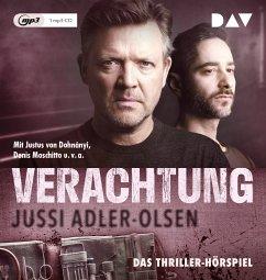 Verachtung / Carl Mørck. Sonderdezernat Q Bd.4 (1 MP3-CD) - Adler-Olsen, Jussi