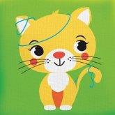 Drück mich! - Katze, Stoffbilderbuch (Mängelexemplar)